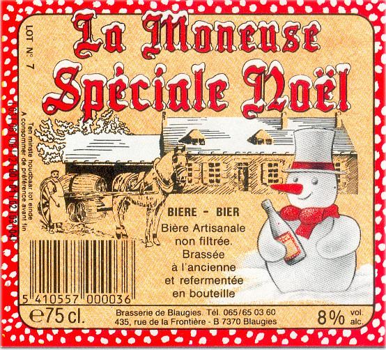BLAUGIES La Moneuse Special Noel