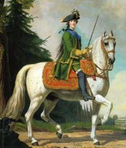 Catherine-mounted-on-a-horse-photoshop