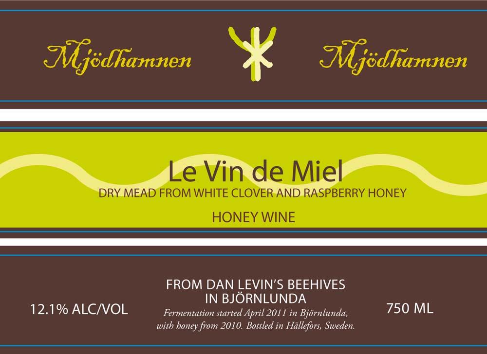 Le Vin de Miel label