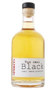 MIKKELLER rum cask black bottle