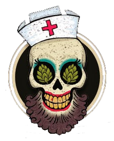 WEIRD BEARD bearded nurse - skull