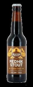 BUXTON rednik stout bottles