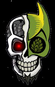 WEIRD BEARD skull - deface