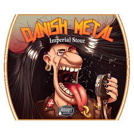 AMAGER danish metal