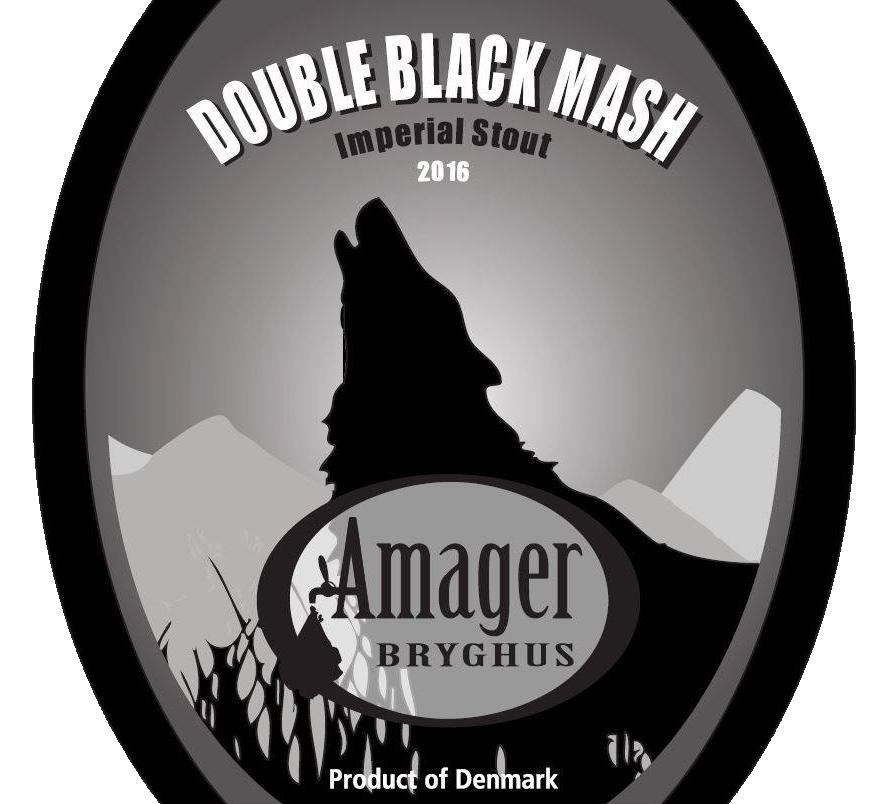 AMAGER double black mash