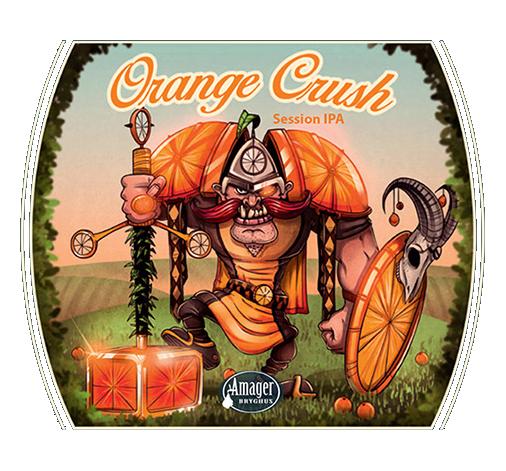 AMAGER orange crush