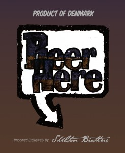 MAGNET Beer Here - Generic