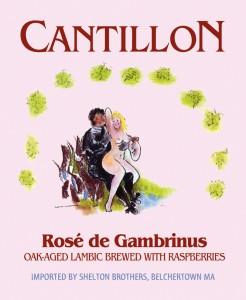 MAGNET Cantillon - Rose de Gambrinus