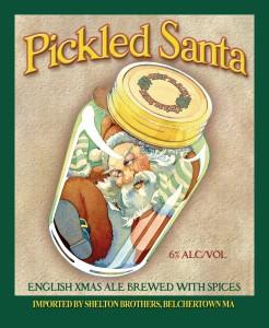 MAGNET Ridgeway - Pickled Santa