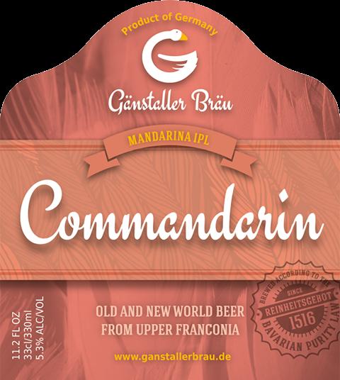 GANSTALLER commandarin - web