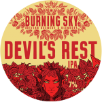 BURNING SKY devils rest ipa