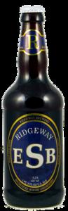 RIDGEWAY dry hopped esb bottle