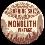 BURNING SKY monolith vintage