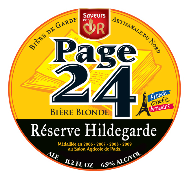 Page 24 Reserve Hildegarde Blonde | Shelton Brothers Page on