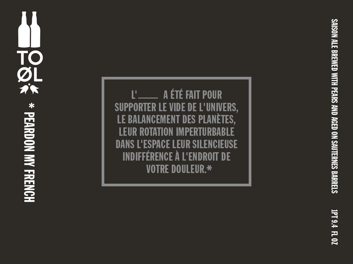 TO OL peardon my french