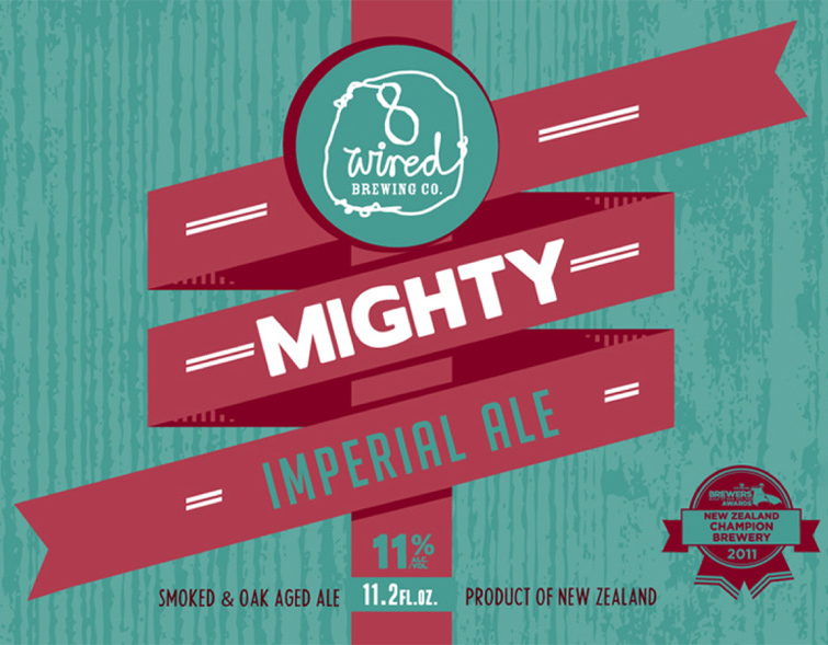 8 Wired Mighty Imperial Ale | Shelton Brothers