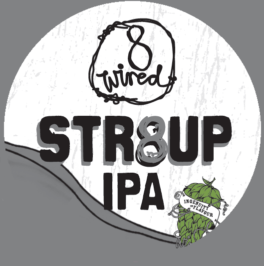 8 Wired STR8UP IPA | Shelton Brothers
