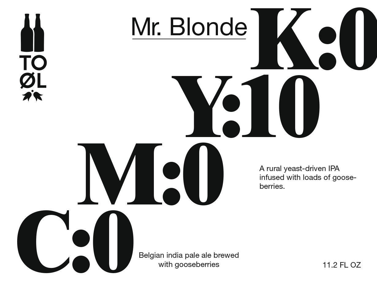 TOOL mr blonde
