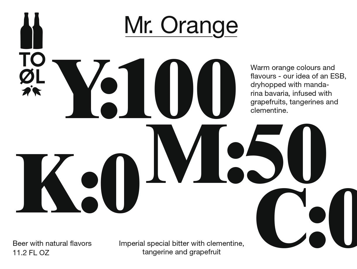 TOOL mr orange
